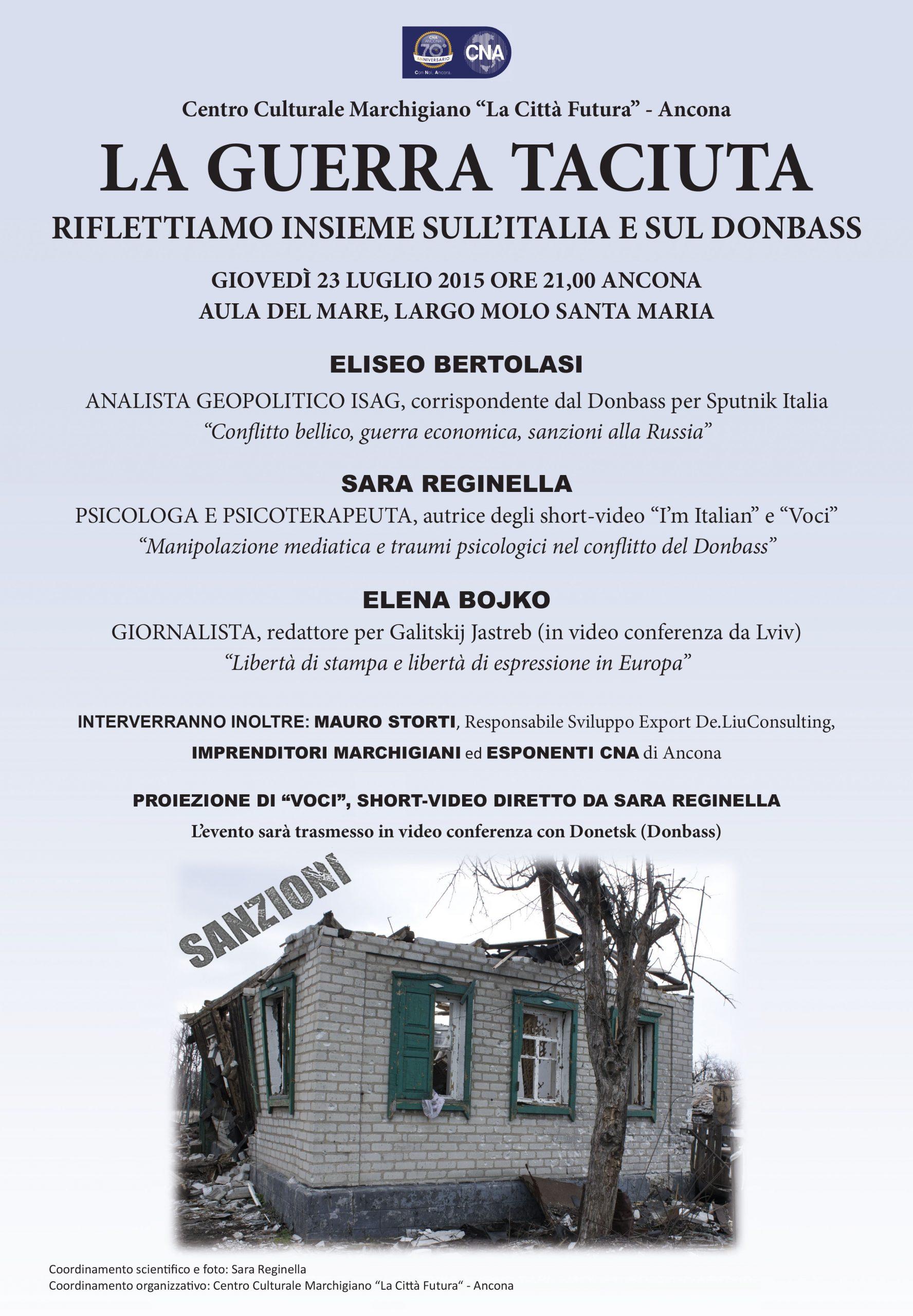 Sara Reginella | La guerra taciuta