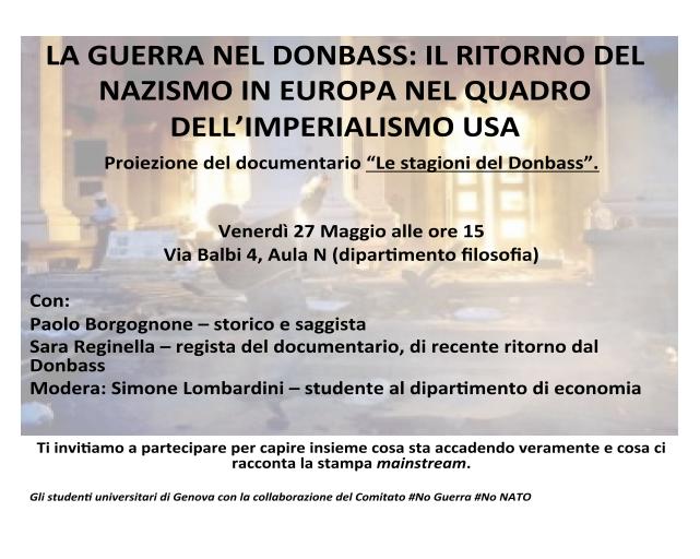 Sara Reginella | La guerra nel Donbass