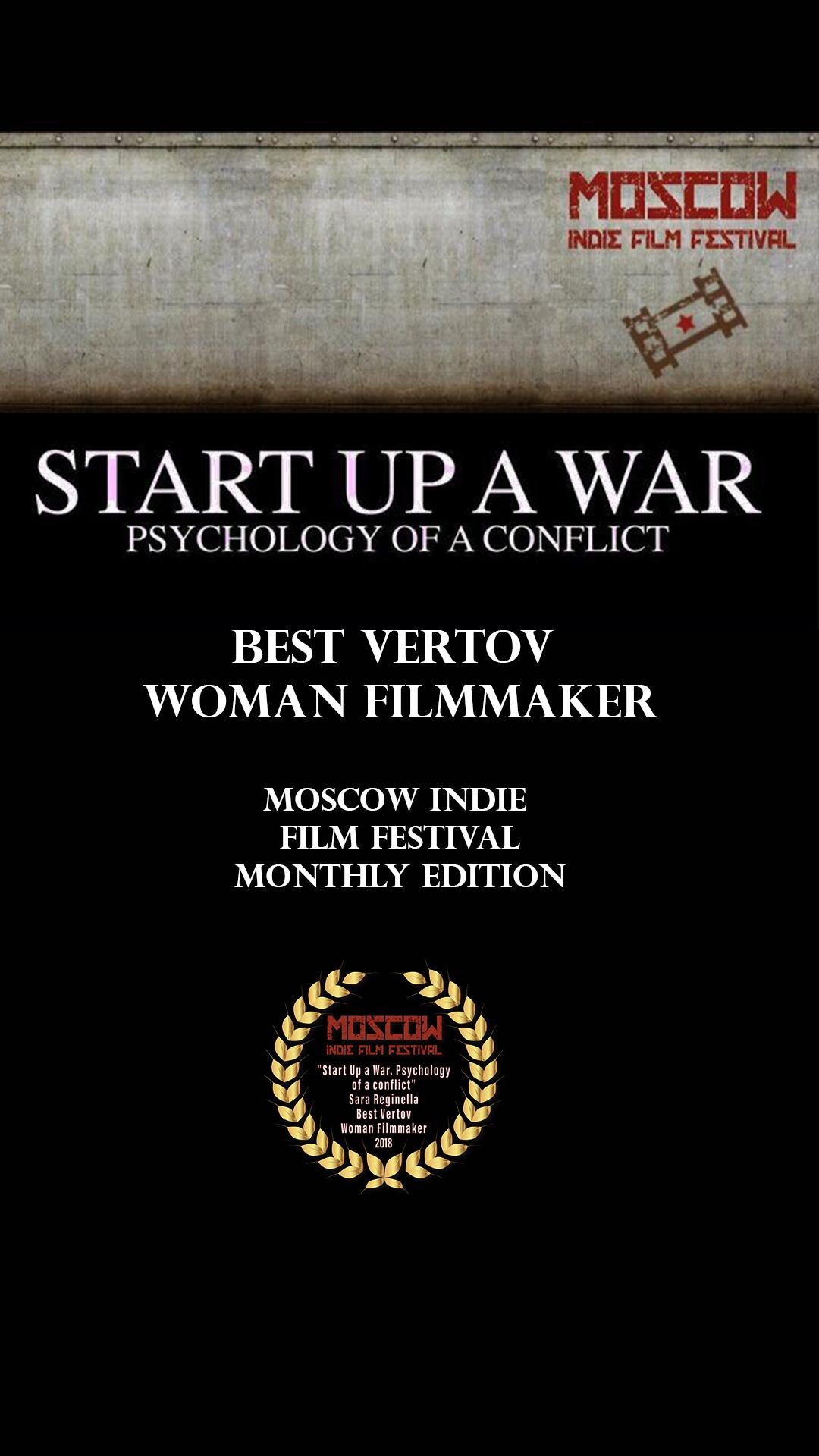 Sara Reginella | Start Up a War Moscow Indie Film Festival