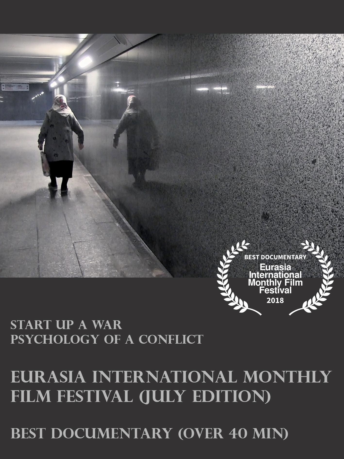 Sara Reginella | Start up a war Eurasia International Monthly Film Festival