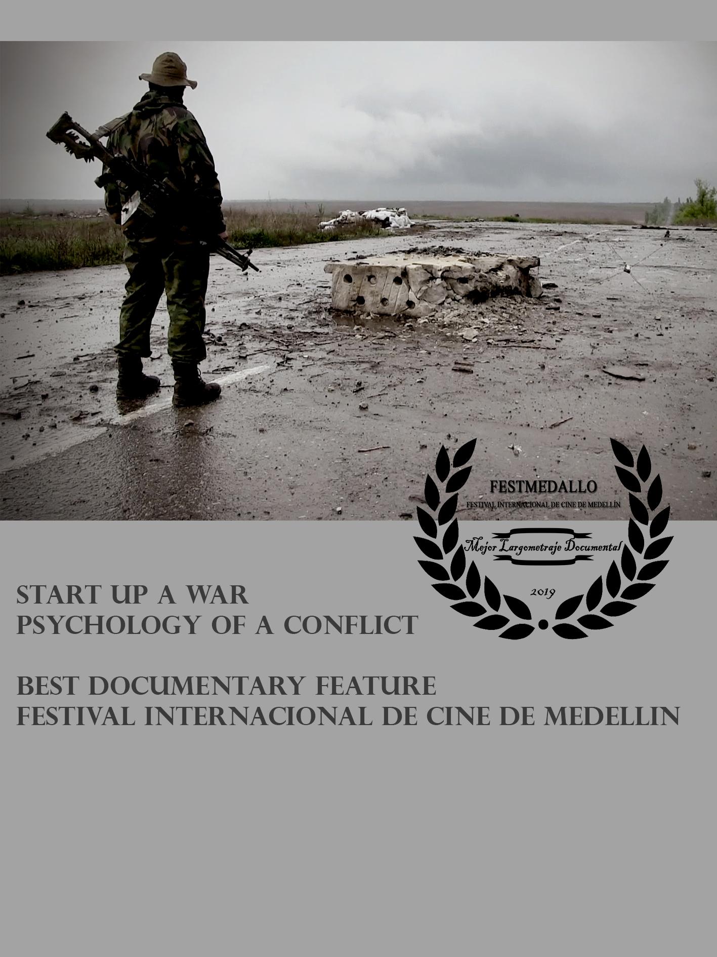 Sara Reginella | Start Up a War Best Documentary Feature Festival Internacional de Cine de Medellin
