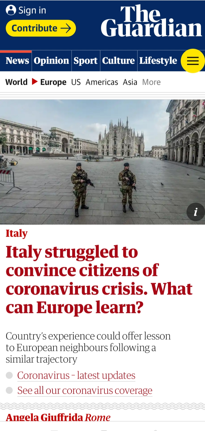 Sara Reginella | The Guardian